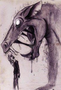 The maws of depression by Tyto Thylaco42 (deviantart.com)